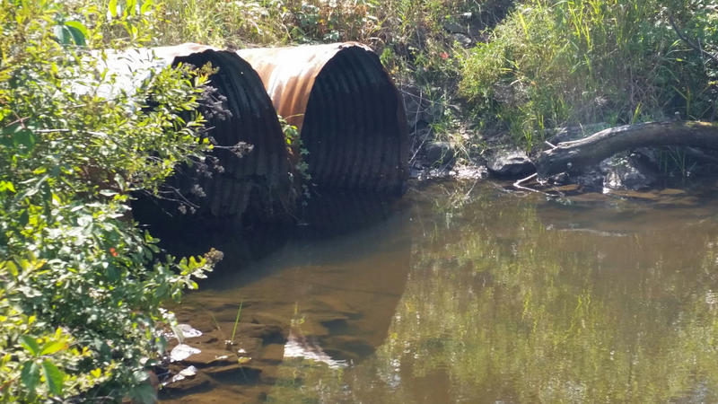 Perkins Ridge Culvert in Auburn, slated for replacement.