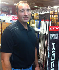 Scott Rousseau, owner of Play It Again Sports