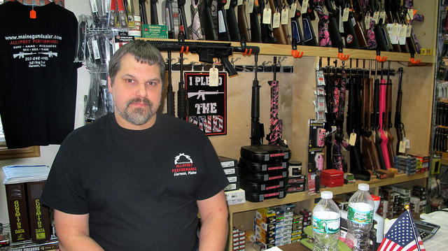 Fred Emerson, owner of Allsport Performance in Hermon.