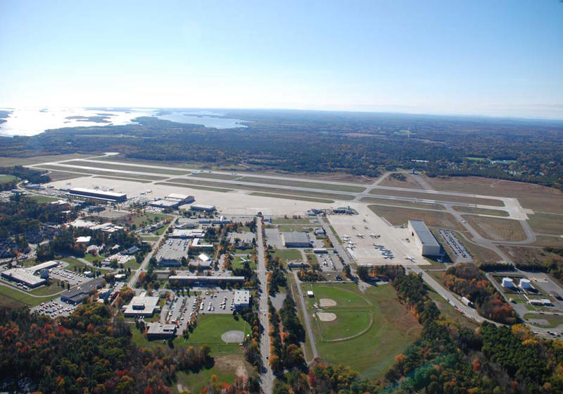 Brunswick Naval Air Station in 2008.