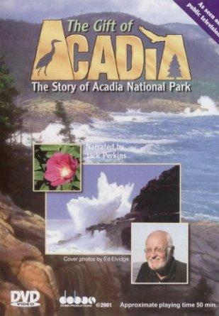 Home video cover for The Gift of Acadia