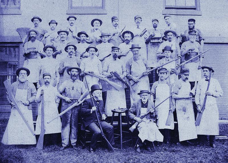 Unknown gunsmiths, mid 1800s.