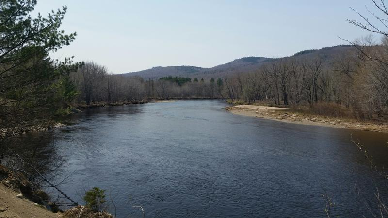 The East Branch of the Penobscot River.
