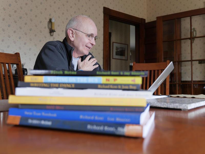 Richard Kent, professor of literacy at the University of Maine.