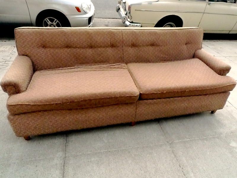 Maybe you should think twice about taking that old couch off the sidewalk: A group says flame retardants in old furniture are linked to impairment in brain development.