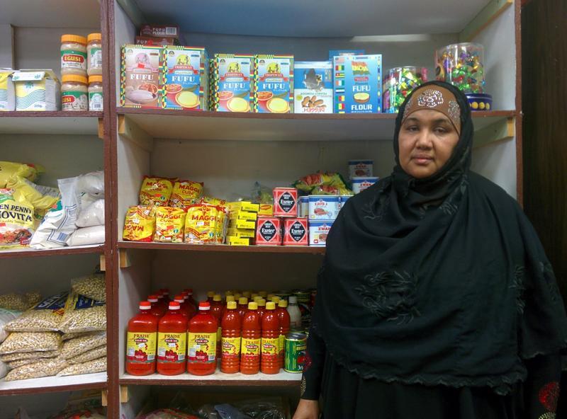 ShukriAbasheikh,or MamaShukri, owner of the Mogadishu store in Lewiston.