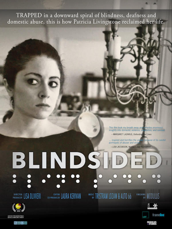Blindsided home video jacket