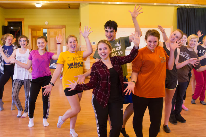 Students at Snow Pond Arts Academy spend the morning studying theater, music and dance before using an online curriculum in the afternoon.