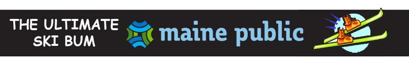 The Ultmate Ski Bum logo