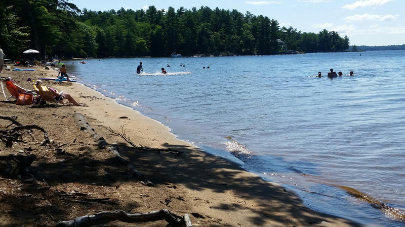 Sebago Lake State Park in July 2015.