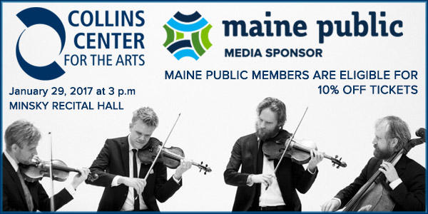 Collins Center for the Arts Danish String Quartet