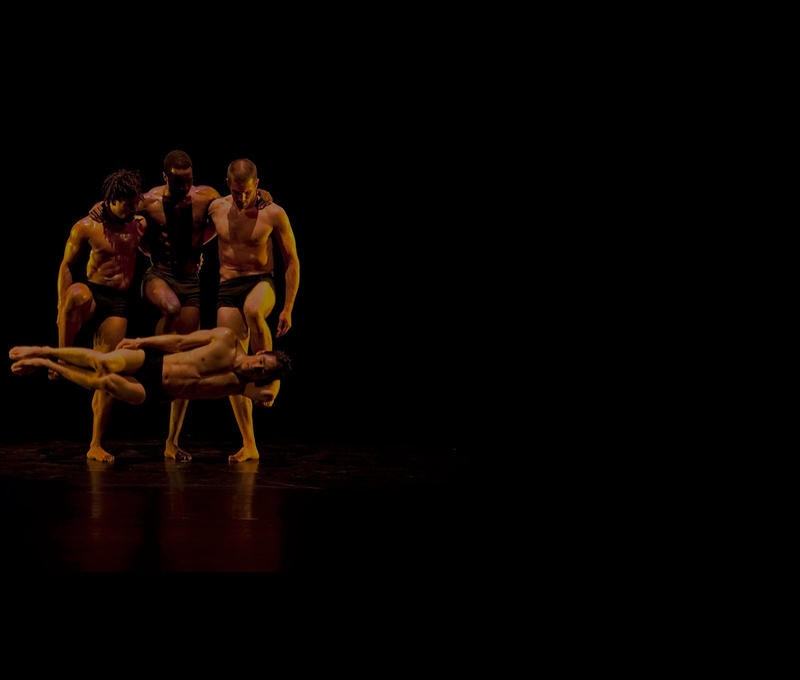 A still frame from Still Moving: Pilobolus at Forty