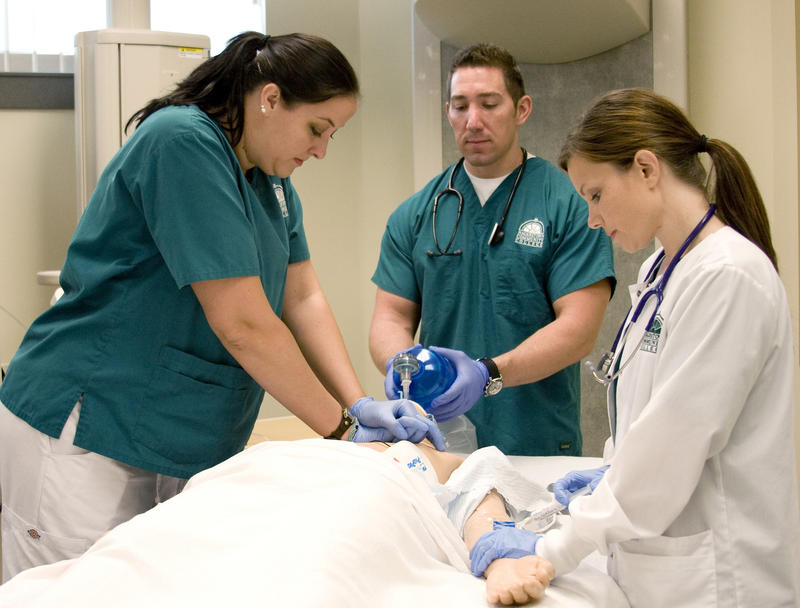 Nursing students in 2011.
