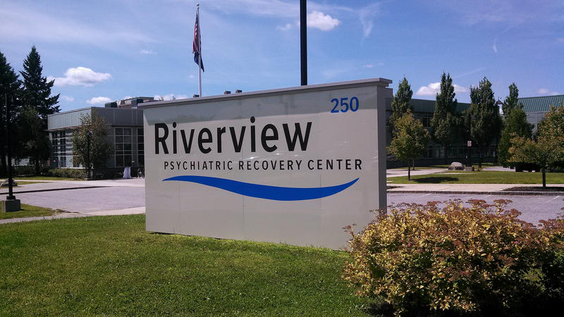 The Riverview Psychiatric Center in August, 2014.