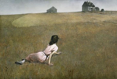 """Andrew Wyeth's painting, """"Christina's World,"""" depicted Christina Olson and what's now known as the Olson House."""