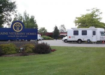 Maine Veterans' Homes facility on Cony Rd. in Augusta