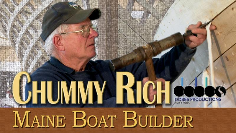 Home video jacket image for Chummy Rich: Maine Boat Builder