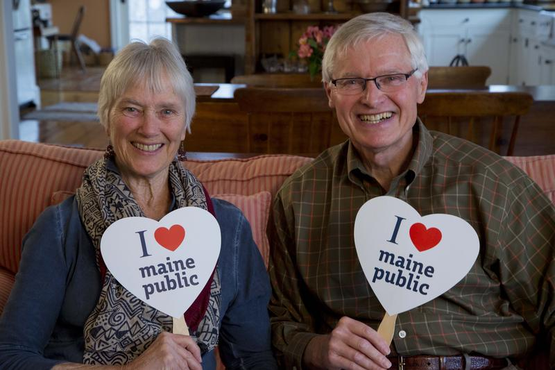 The Bancrofts LOVE everything about Maine Public!