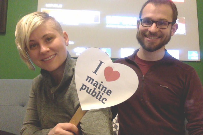 The foundation of any strong democracy is an informed citizenry. This is why we love Maine Public. - Julia Harper & Craig Saddlemire