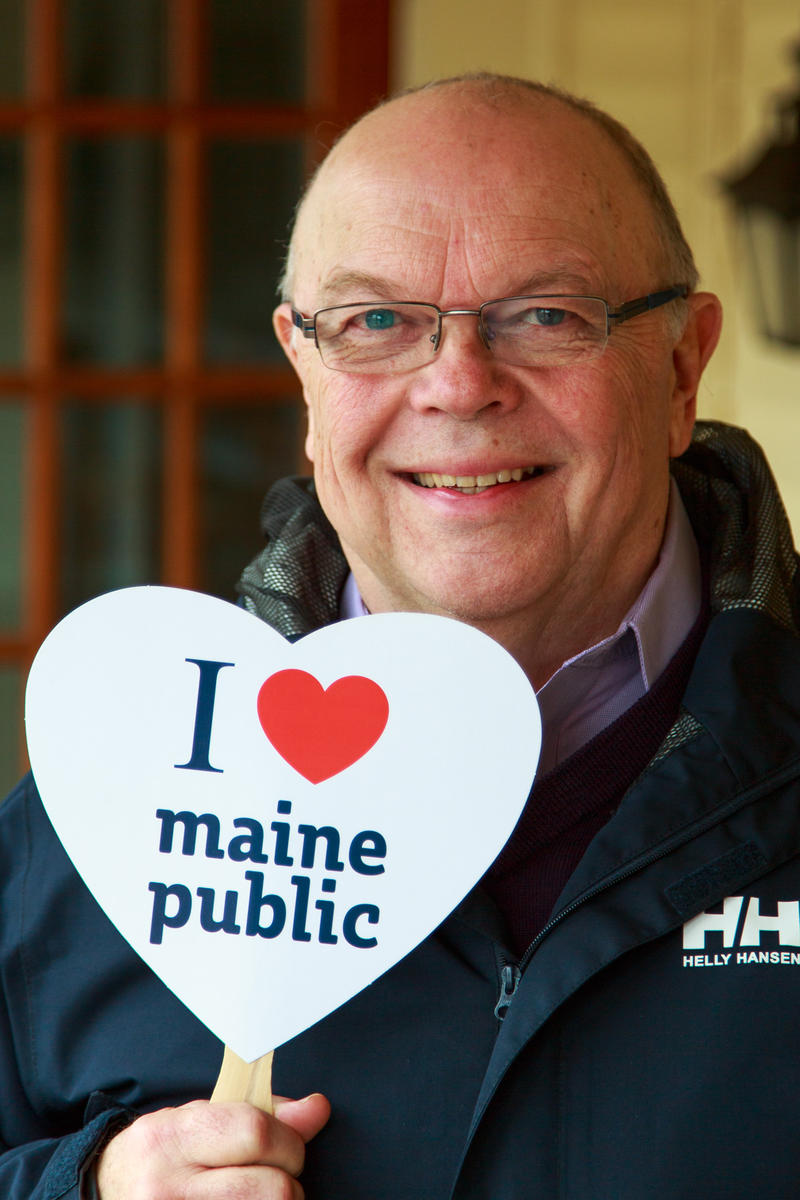 Dennis Haarsager, former PBS and NPR station Manager, technology guru, and former President of NPR, resides now in Maine and knows exactly what station he can rely on.
