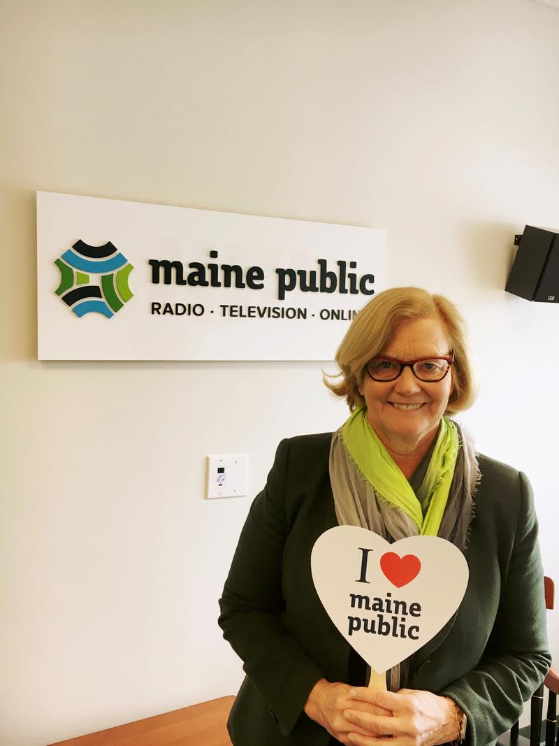 Chellie Pingree happens to be a big fan of public broadcasting in Maine! Thanks Chellie!