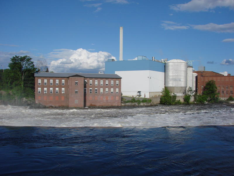 The Madison paper mill in 2008.