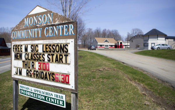 The Monson Community Center was one of the buildings that the Libra Foundation purchased in Monson.