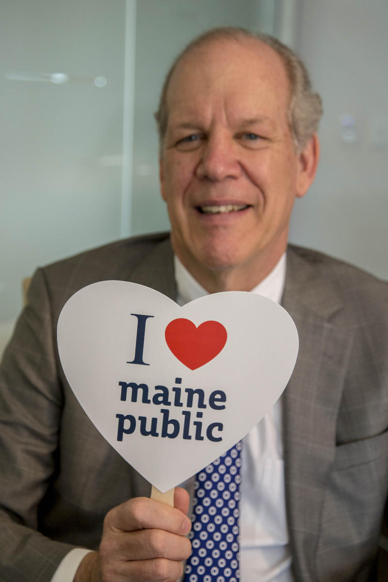 Bill Williamson LOVES Maine Public!