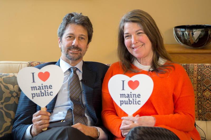 Maine Public LOVE in action!