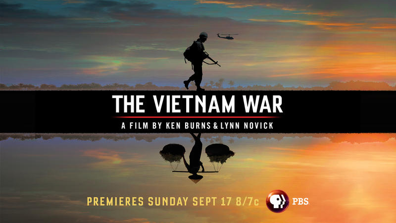 Film poster for Ken Burns' The Vietnam War