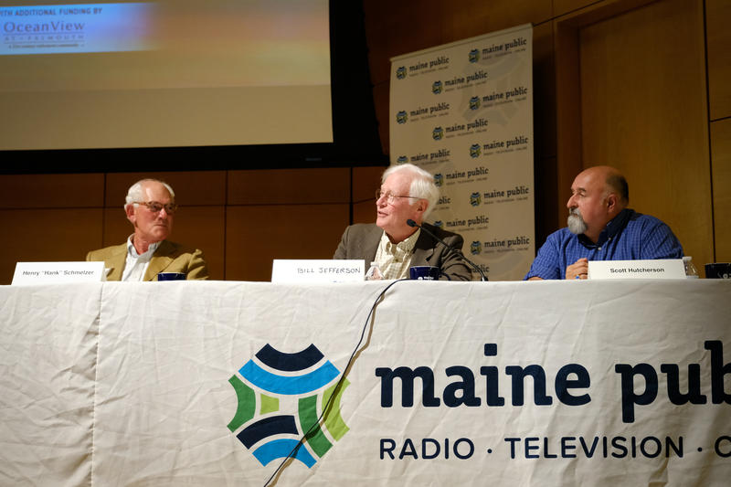 Panelists (from left-to-right): Hank Schmelzer, Bill Jefferson and Scott Hutcherson.