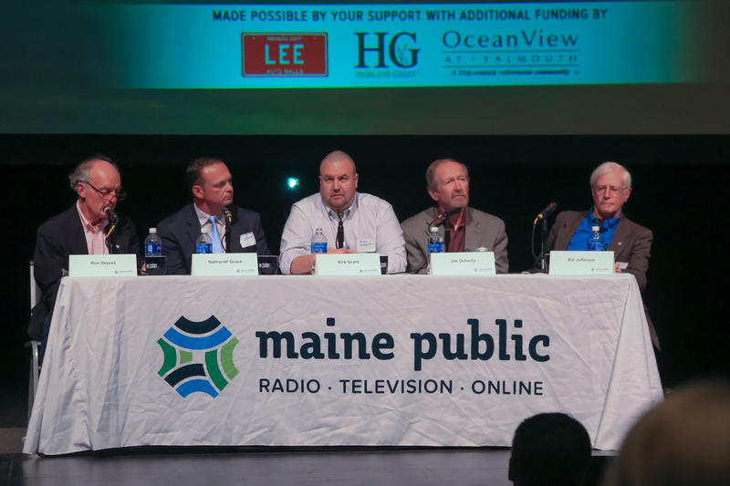 Panelists (from left to right): Ron Duprez, Nathaniel Grace, Kirk Grant, Jim Dougherty,  Bill Jefferson
