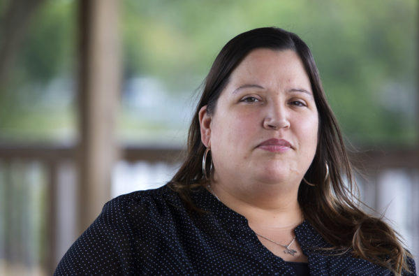 Kristi Ricker, recently laid off, had the job of organizing public health improvement efforts in tribal communities.