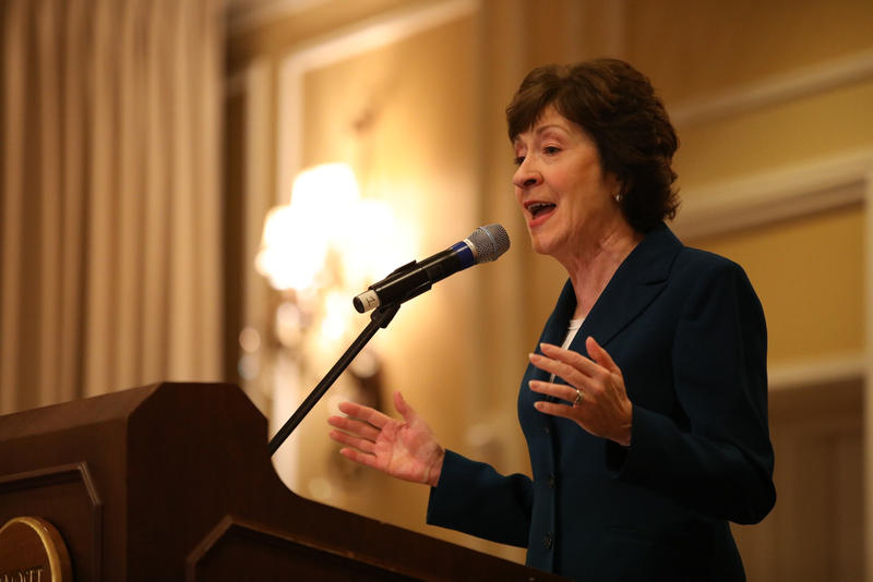 Maine U.S. Sen. Susan Collins announces Friday that she will not seek the Republican nomination in Maine's 2018 governor's race.