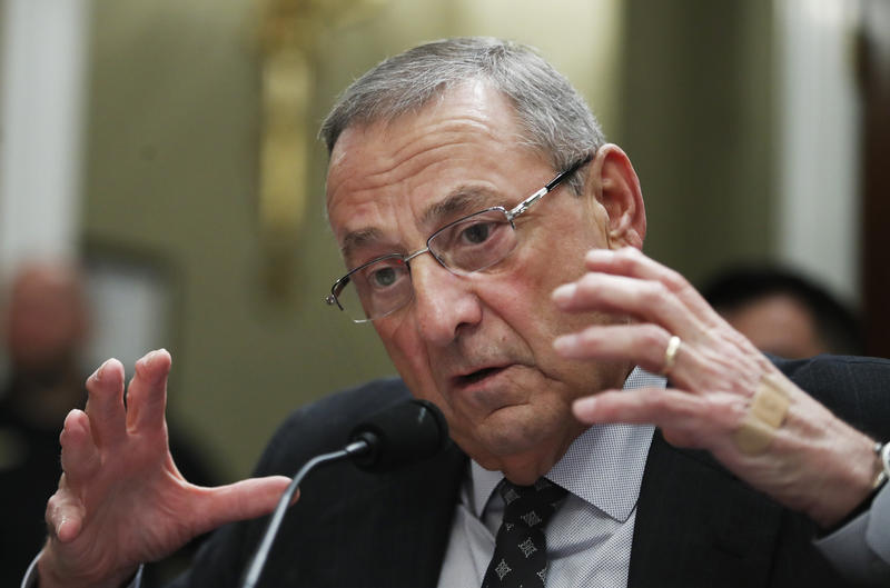 Gov. Paul LePage in Washington in May.
