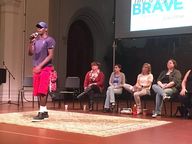 Zach Hurd is set to perform during This Is My Brave in Lewiston on Sunday.