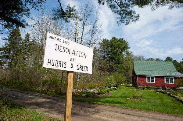 Clearcuting Followed By Blasting Took Place Along Gaecklein Road In  Boothbay To Make Way For A
