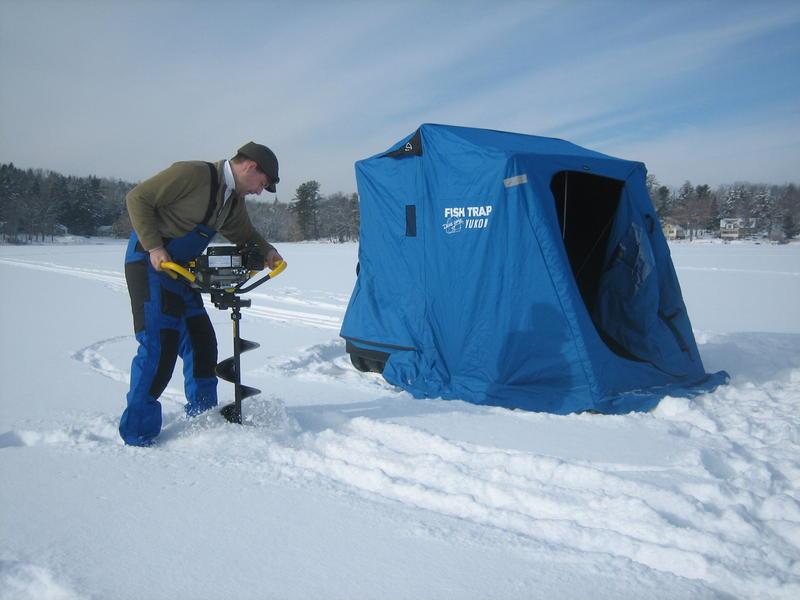 Ice fishing maine public for Maine ice fishing