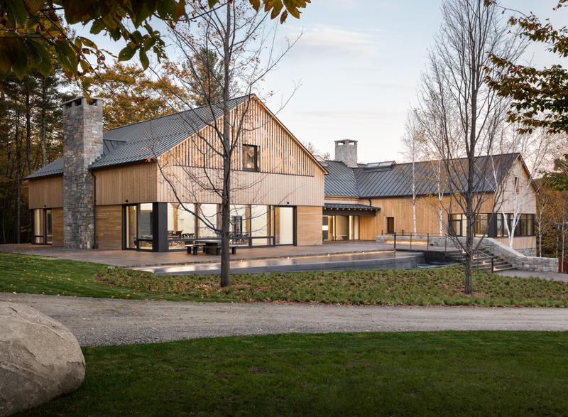 Alnoba is a 13,000-square-foot, mixed-use facility in rural New Hampshire