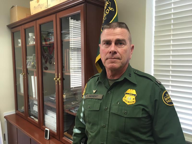Chief Patrol Agent Daniel Hiebert