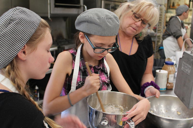 Students learn cooking skills at the Lake Region Vocational Center in Naples.