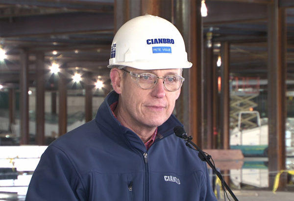 Peter Vigue will continue as chairman of Cianbro, a role he has held since 2008, as well as work with the Cianbro Development Corp., a Brewer-based company that offers heavy industrial construction and fabrication services.