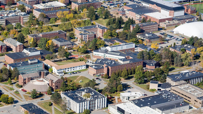 Aerial View of University of Maine Campus