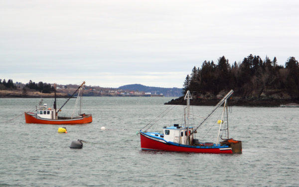 Fishing boats in this section of ocean off Lubec will be joined by kayakers and other recreation enthusiasts in 2019 thanks to the Butler Conservation Fund.