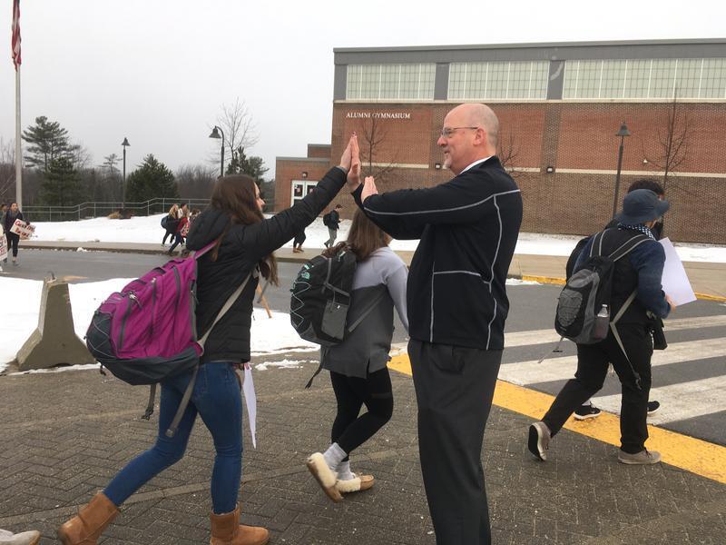 Scarborough High School Principal David Creech