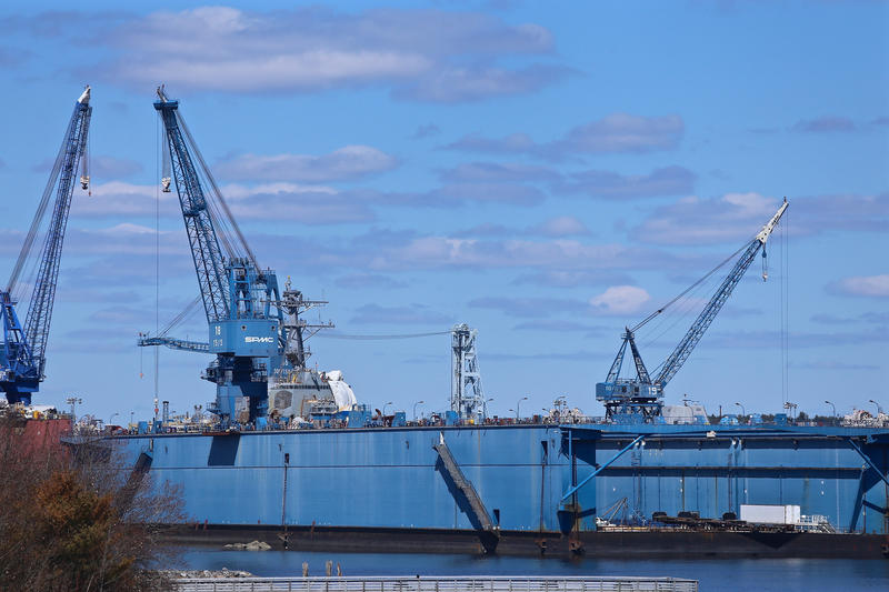 Bath Iron Works in April 2016.