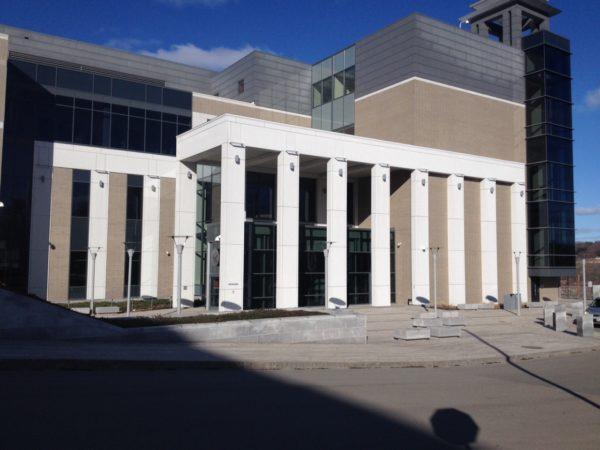 The Capital Judicial Center in Augusta.