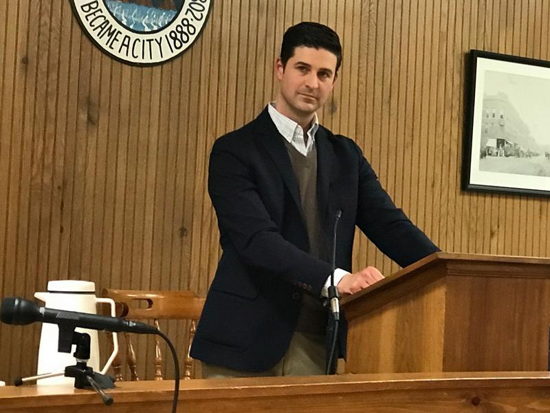 Waterville Mayor Nick Isgro