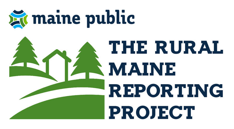 The Rural Maine Reporting Project logo