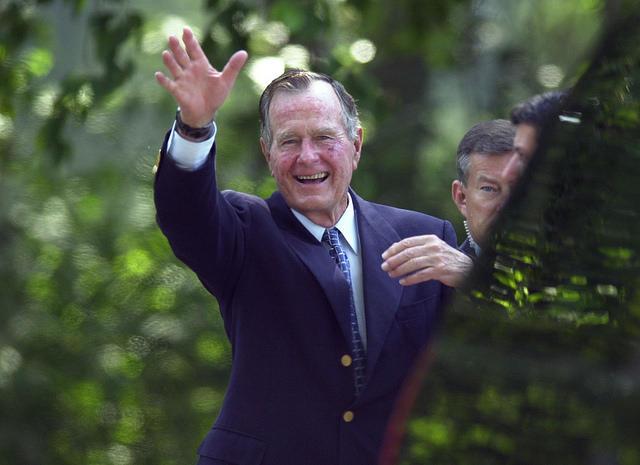 Former President Bush Plans A Trip To Maine Maine Public
